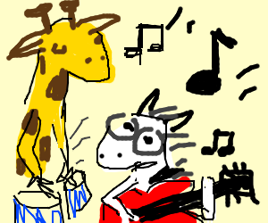 300x250 Animals In A Band