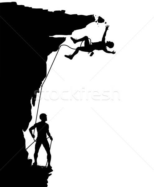 494x600 Rock Climbing Stock Vectors, Illustrations And Cliparts Stockfresh