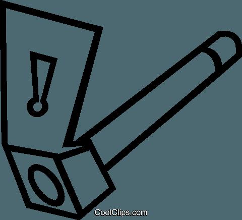 480x436 Rock Climbing Axe Royalty Free Vector Clip Art Illustration