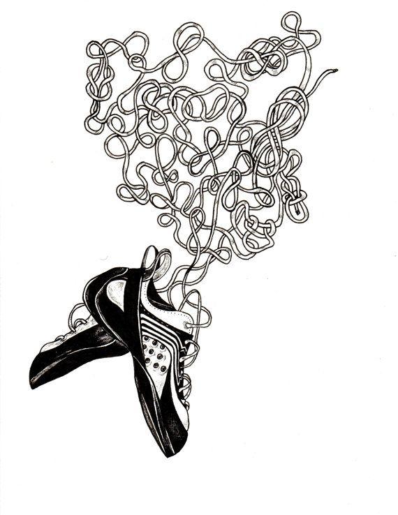 570x738 Rock Climbing Shoes Illustration Headrush In Rock