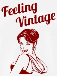 190x253 Pin Up Girl Rockabilly Feeling Vintage Men's Premium T