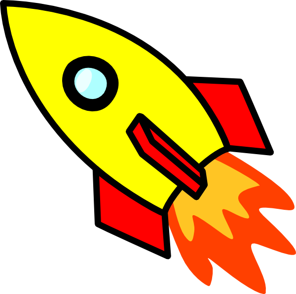 Rocket Cartoon Drawing