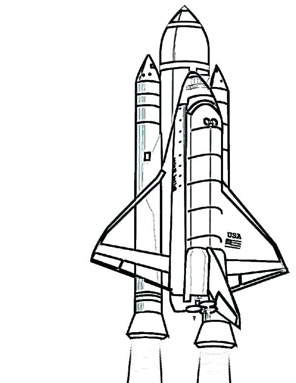 Rocket Drawing For Kids   Free download on ClipArtMag