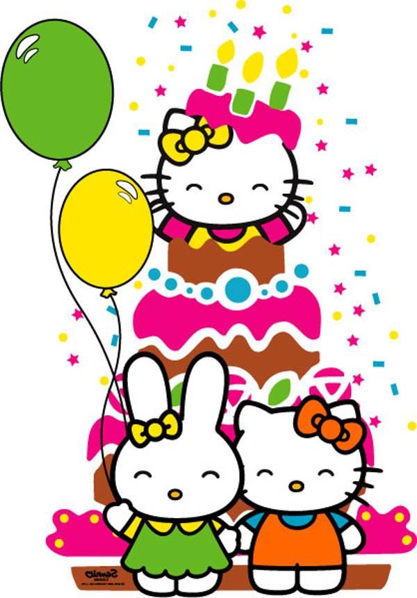600x860 hello kitty birthday hello kitty birthday clipart hello kitty