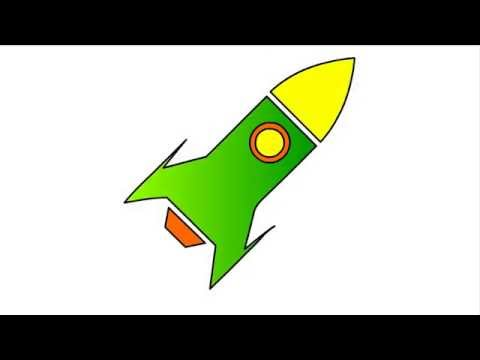Rocket Drawing Images