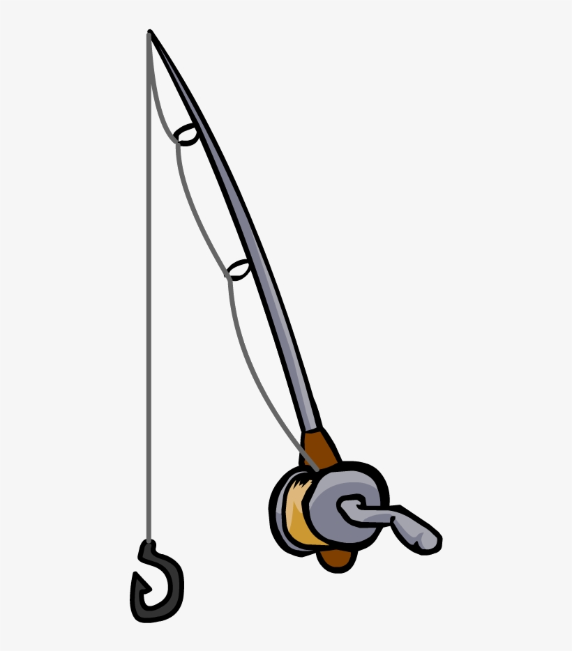 820x934 Fishing Rod Clipart Black And White
