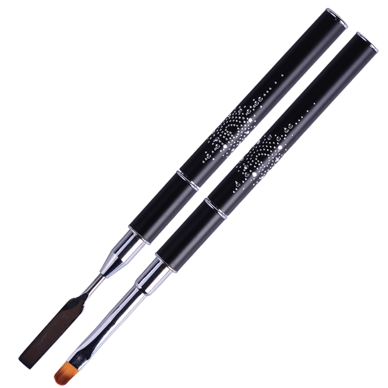 800x800 Nail Brush Pen Spatula Mixer Rod Double End Painting Flower