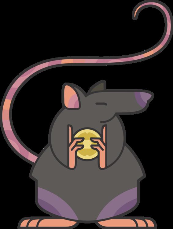 566x749 rat mouse cartoon rodent drawing cc0