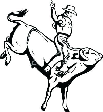 Bull coloring pages Miracle rodeo coloring pages with wallpapers ... | 435x400