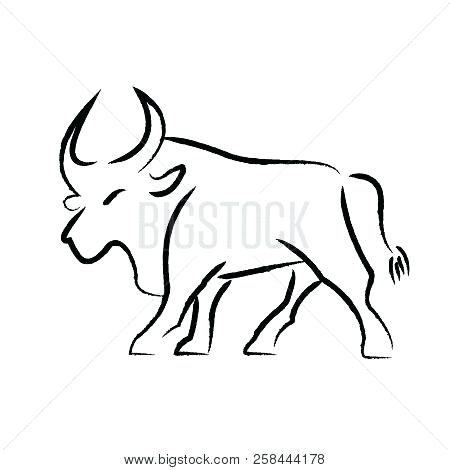 Rodeo Bull Drawing Free Download On Clipartmag