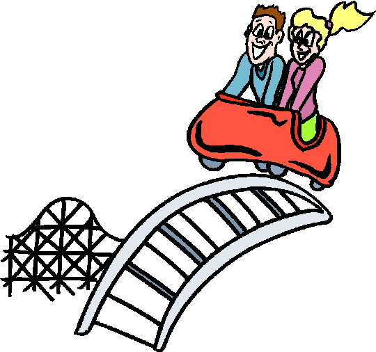 540x506 Clipart Free Roller Coaster