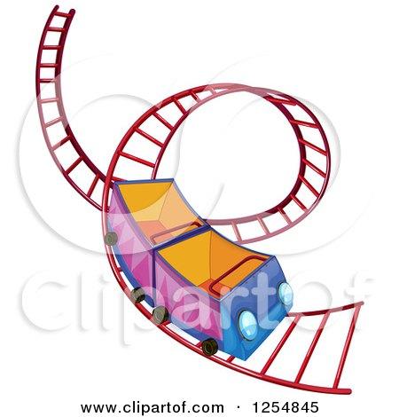 450x470 Roller Coaster Cart Clipart