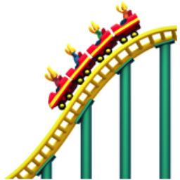 256x256 Roller Coaster Emoji U