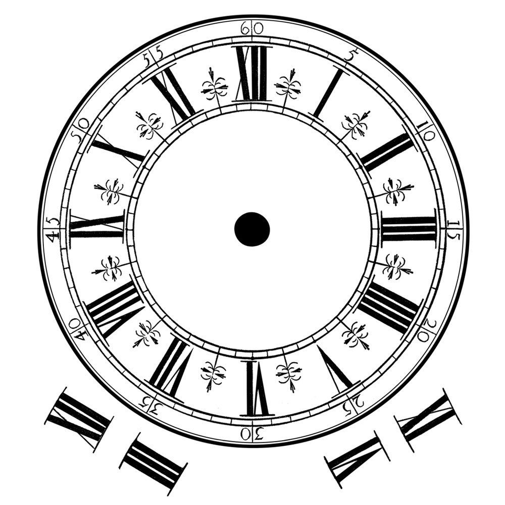 1000x1000 Huge Collection Of 'clock Face Drawing' Download More Than