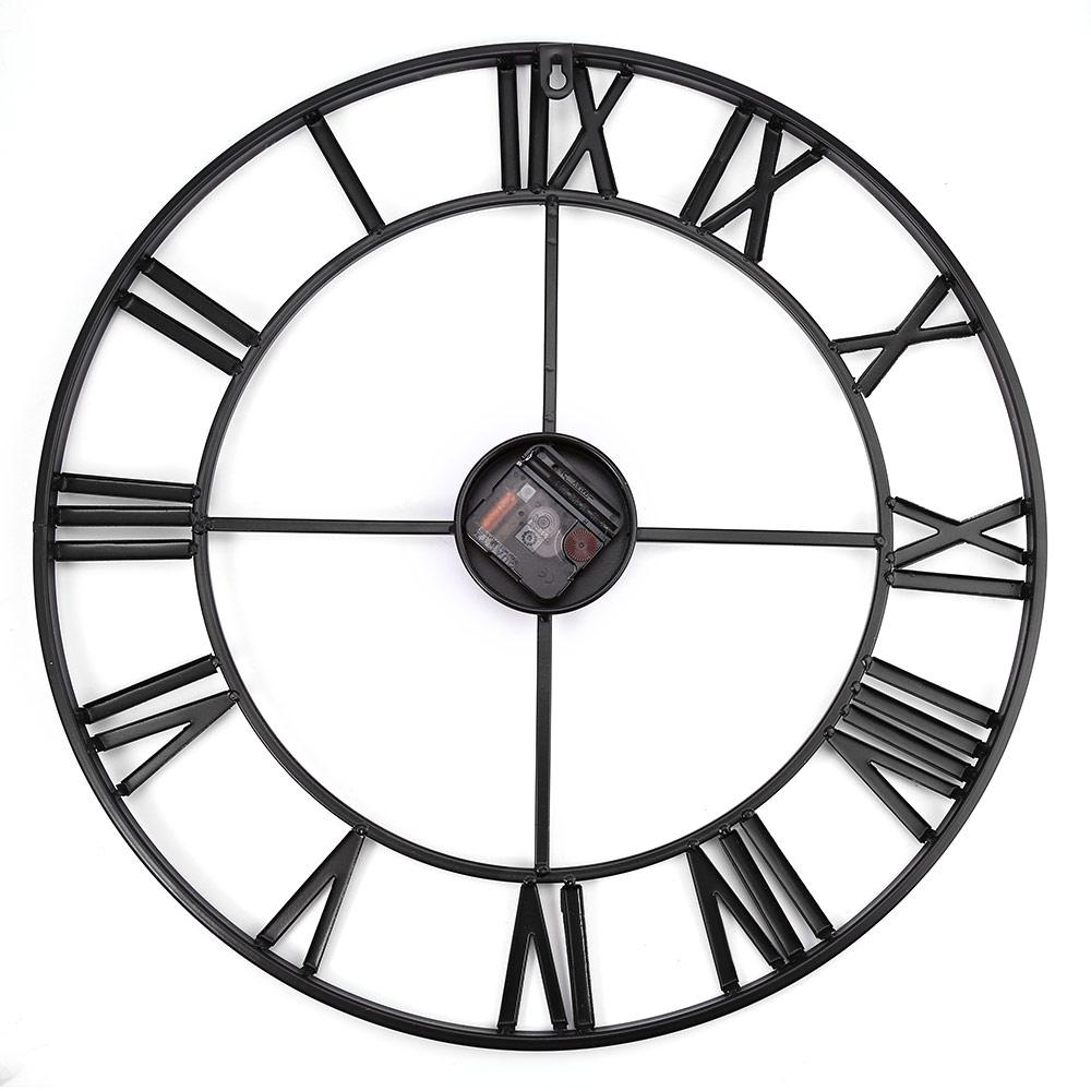 1000x1000 inch oversized iron decorative wall clock retro roman