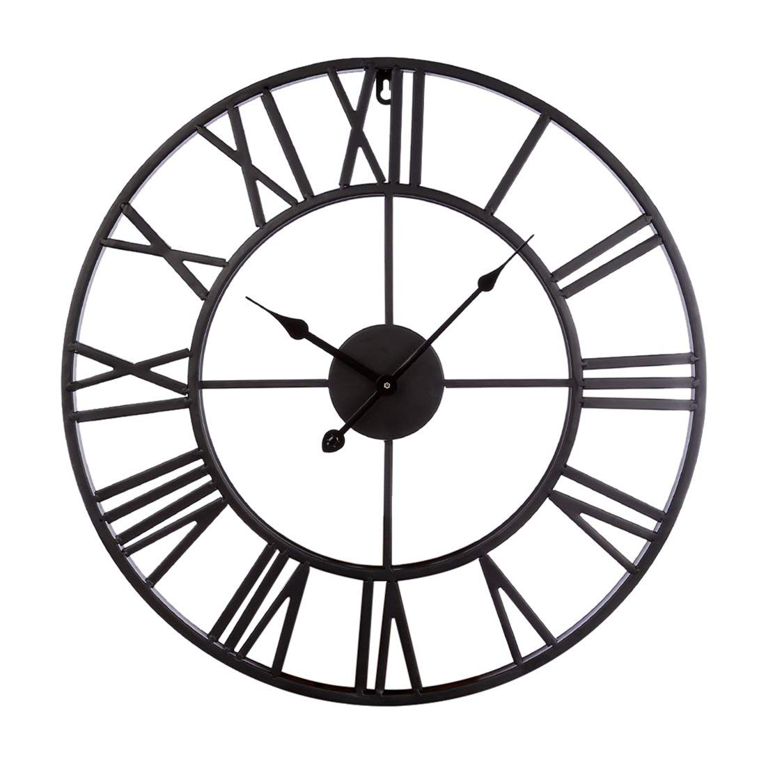 1100x1100 Fcoson Vintage Metal Clock Hollowed Out Roman Numeral