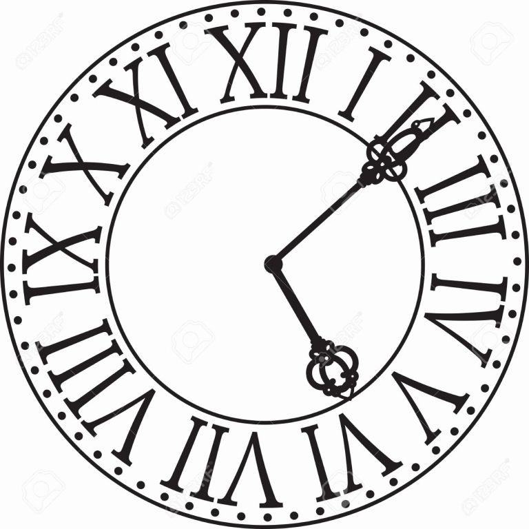 768x768 Best Of Clock Dial Clipart Clipart Collection