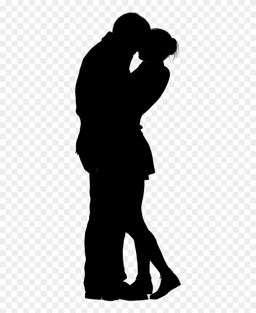 880x1076 Huge Collection Of 'couple Kissing Silhouette Clip Art' Download