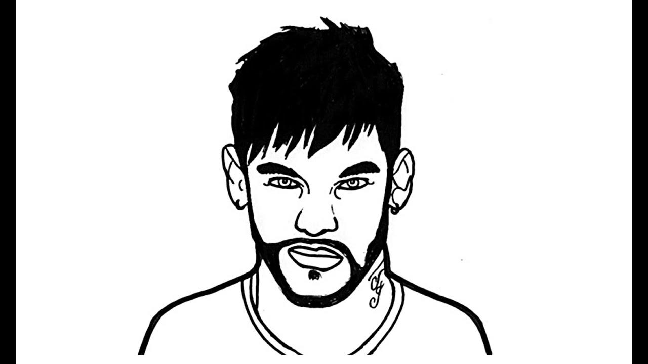 1280x720 Come Disegnare Neymar