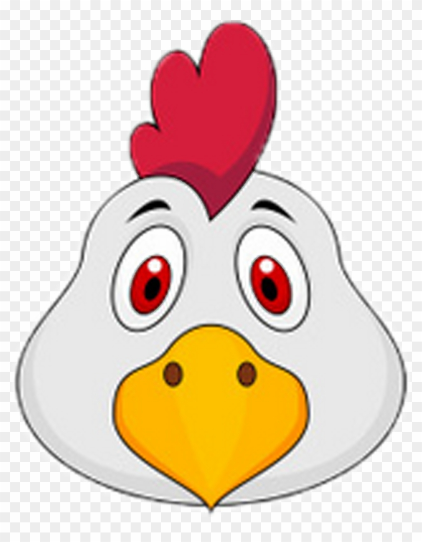 840x1079 Chicken Rooster Drawing Animation, Hd Png Download