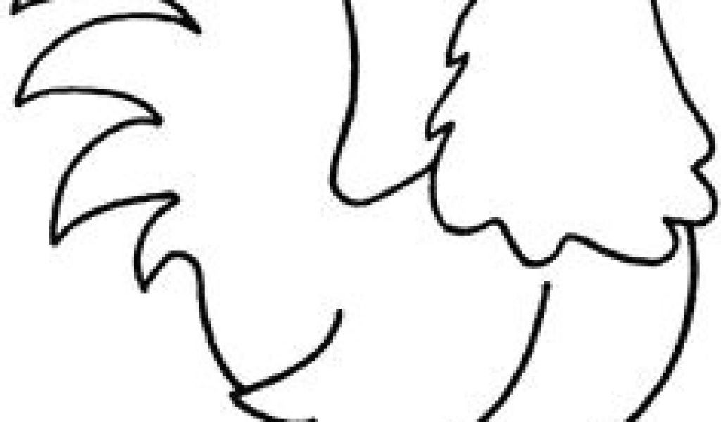 1024x600 Drawing Of A Cartoon Rooster How To Draw A Rooster Step Roosters