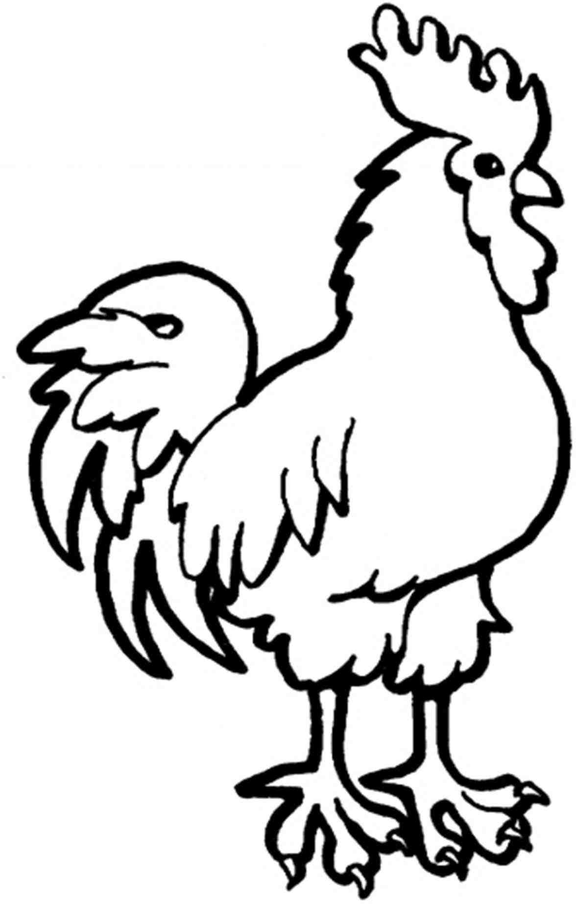 1176x1847 Rooster Drawing Kawaii For Free Download