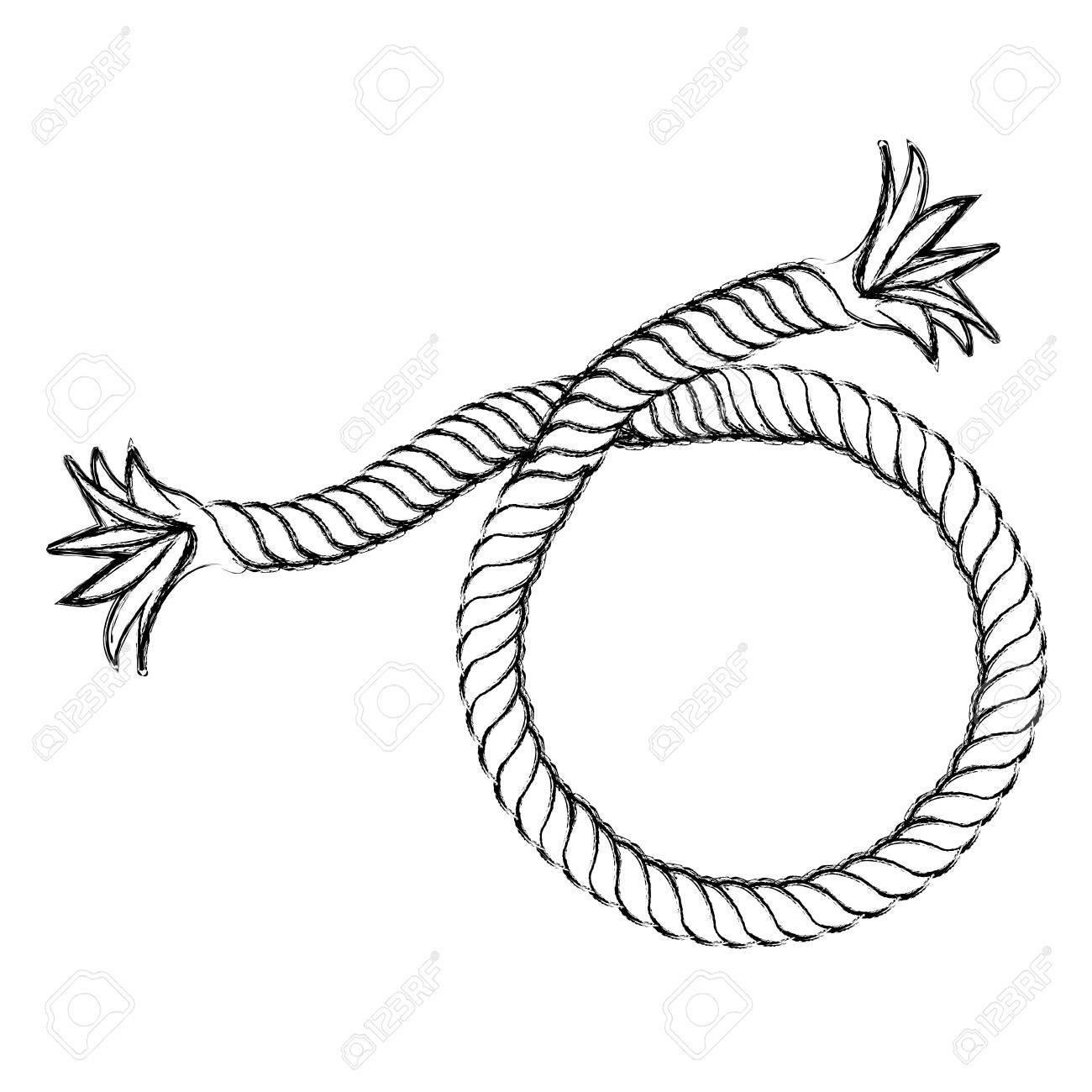 Rope Bridge Drawing