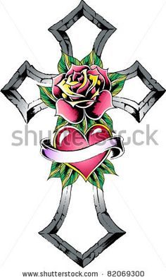 236x397 best rosaryrose tattoos images pink tattoos, rose tattoos
