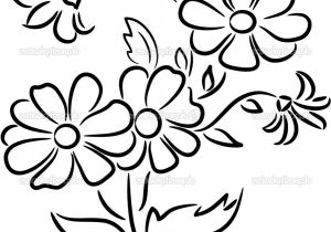300x210 Flower Bunch Drawing Rose Flower Bunch Sketch Images Vintage