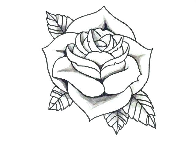 Bcf5a98f3a Timeless Design Various Design Simple Tattoo Rose