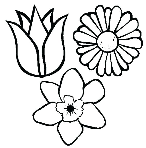 600x612 Coloring Pages Draw A Rose Coloring Pages For Kids