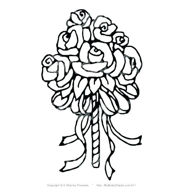 618x630 Simple Rose Drawings