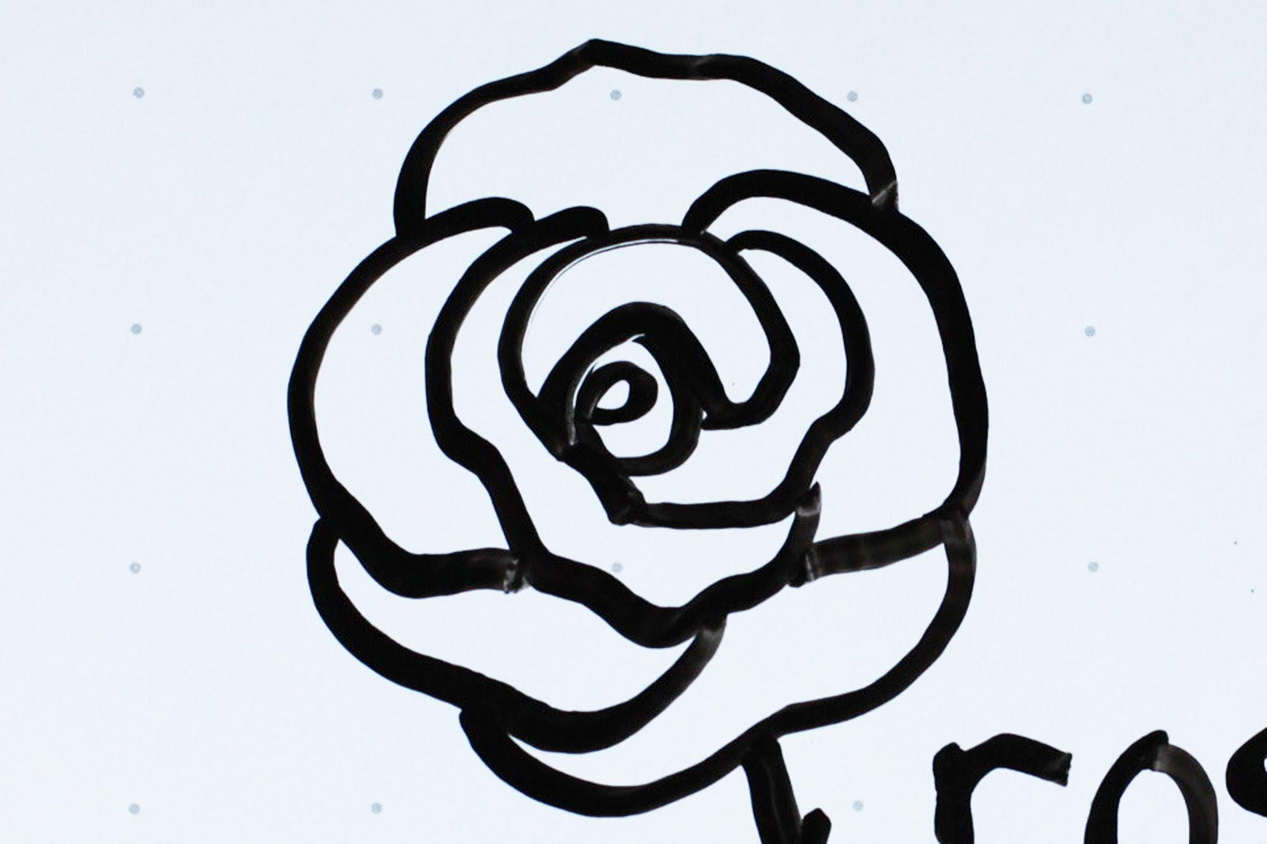 1800x1200 How To Sketch A Simple Rose Kids' Tutorial