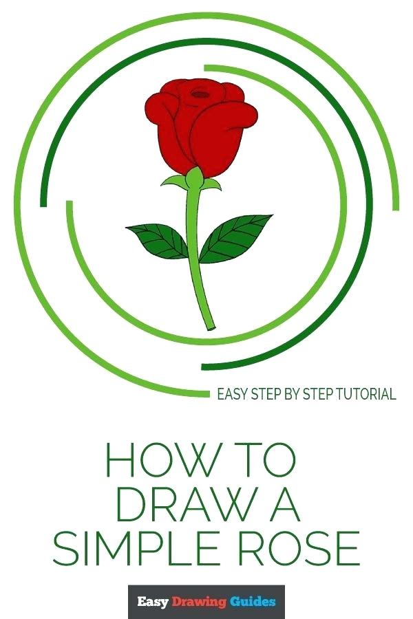600x900 Rose Drawing For Kids How To Draw A Rose Step
