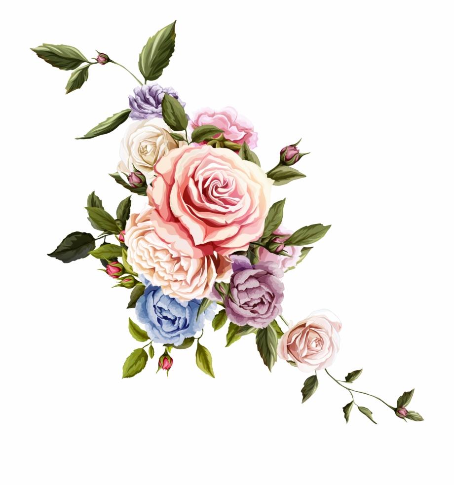 920x983 Floral Design Transprent