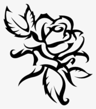 320x363 Rose Outline Png, Transparent Rose Outline Png Image Free Download