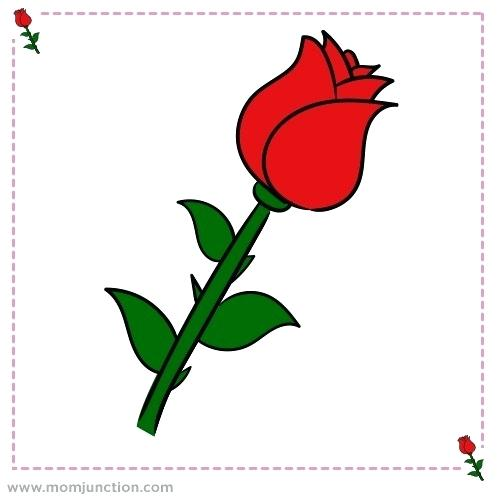 500x500 Pics Of Roses To Draw Pics Rose Drawing Running