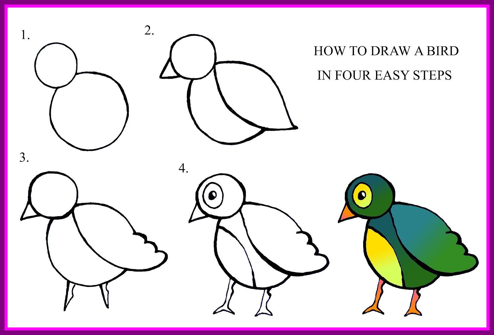1650x1119 Easy Draw Flowers Beginners