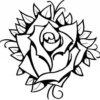 336x336 Rose Drawings Big Tags Cool Easy Designs To Draw Contruction