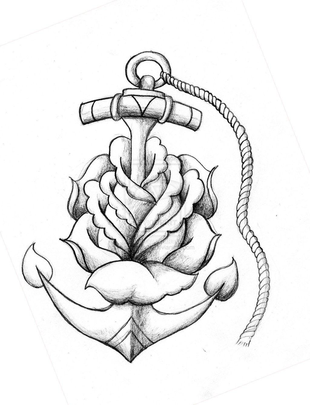 1024x1335 Creative Drawing Ideas Tumblr Drawing Tattoos Anchor Drawings