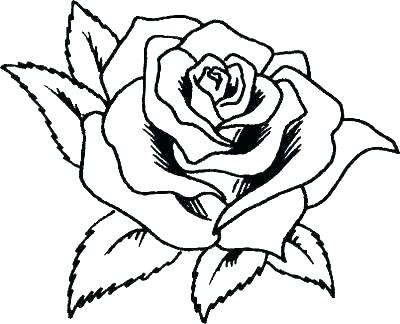 400x324 Printable Rose Coloring Pages Rose Coloring Pages Printable Free