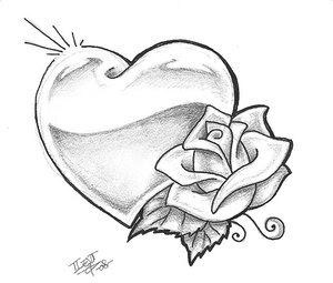 300x255 flower rose tattoo design tattoo tattoo sketches, tattoo