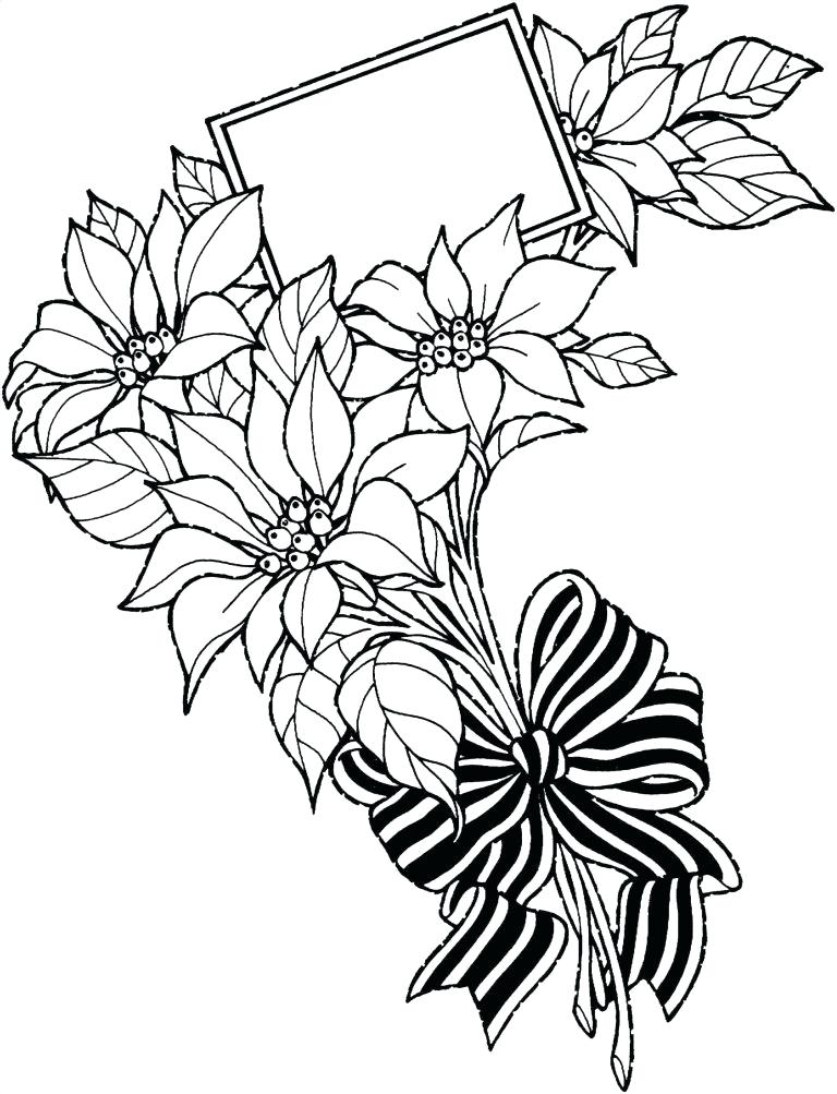 768x1003 Easy Flower Sketch Easy Flower Drawing Pictures
