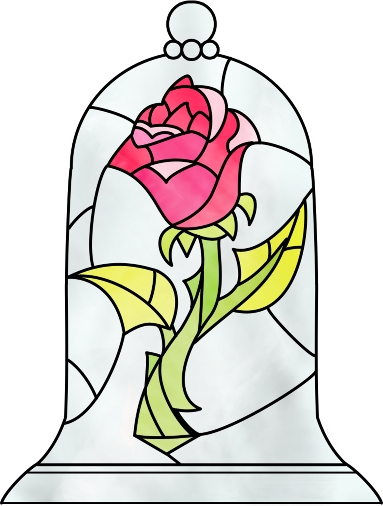 778x1028 Collection Of Free Drawing Rose Beauty And The Beast Download