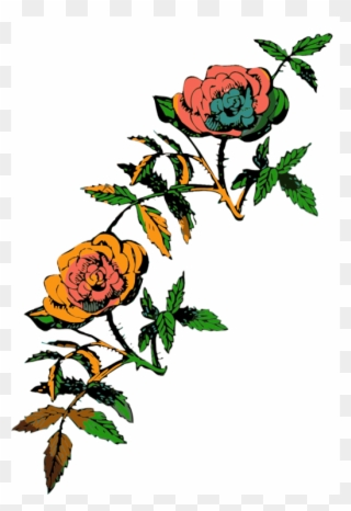 320x466 Computer Icons Rose Drawing Line Art