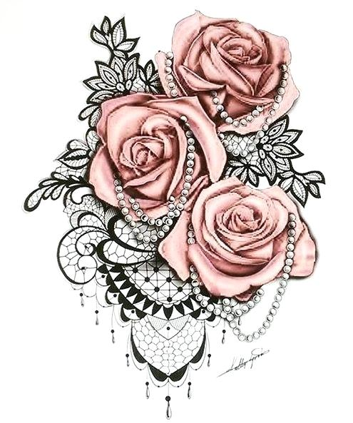 Rose Tattoo Drawing Free Download Best Rose Tattoo Drawing