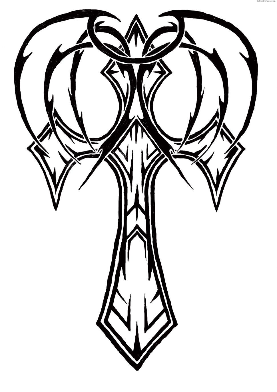 970x1372 Tattoos Rose Tribal Tattoo