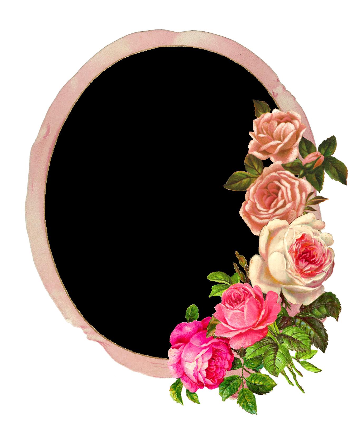 1335x1600 raamid flower frame, flower frame png