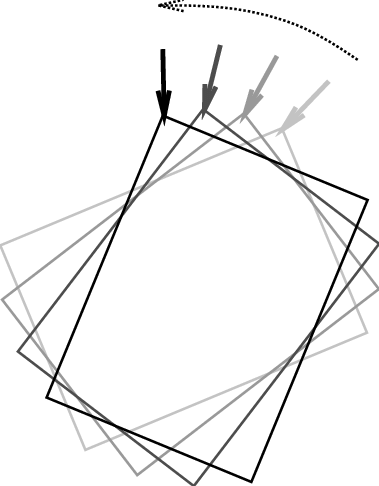 379x486 animating a rotate operation of the object that is grasped
