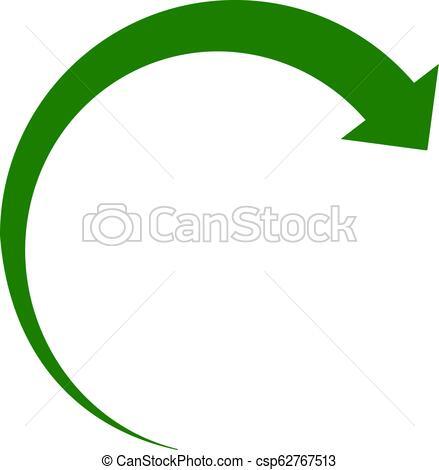 439x470 vector rotate forward flat icon symbol rotate forward icon